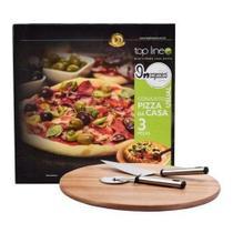 Conjunto Pizza da Casa 3 PCS - Top Line -