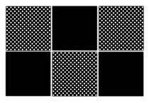 Conjunto Porta Copos com 6 unid (2 em 1) Imantados - Poá - Formalivre