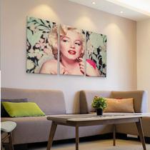 Conjunto Quadro Marilyn Monroe Vintage em MDF - Rcs decorações