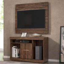 Conjunto Rack com Painel Linea Brasil San Diego Ideal para TVs Até 42 Polegadas -