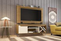 Conjunto Rack Com Painel Para TV Sala Com Pes de Aço Kenzo - Moveis bechara