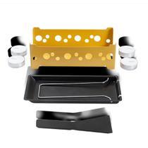 Conjunto Raclette 7 peças amarelo - 1256/106 - Brinox -
