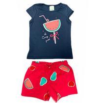 Conjunto Regata e Shorts Malwee Kids 1000069668 -