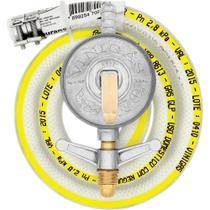 Conjunto Regulador de Pressão para Gás GLP para Fogão Com Mangueira VINIGÁS UN -