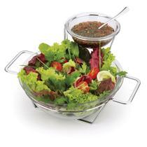 Conjunto Saladeira com Molheira 5 Peças Forma -