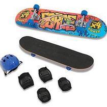 Conjunto Skate Force com Lixa e Acessórios - Xalingo -