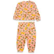 Conjunto Soft Infantil Blusa S/Capuz Calça Menino Menina 4/8 - Zafina