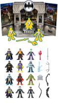 Conjunto Surpresa c/ 3 Figuras e 2 Acessórios - Gotham City - Imaginext DC Super Friends - Fisher Price - Mattel -