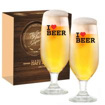 Conjunto Taça 300ml Barcelona I Love Beer 2pcs Ruvolo