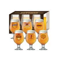 Conjunto Taças Happy Hour 6 Peças Beer Master - Ruvolo