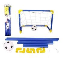 Conjunto Travinha de Futebol  Com Bola e Rede 65Cm - Jr Toys