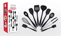 Conjunto Utensílios De Silicone 10 Peças Home & Kitchen -