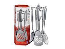 Conjunto utensilios para cozinha com suporte giratorio 6 PC. - Euro