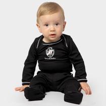 Conjunto Vasco Infantil c/ 3 peças - Torcida baby