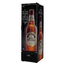 Conservador Vertical de Cervejas Porta de Chapa 284 Litros Fricon VCFC284-1C000 Preto 127V -