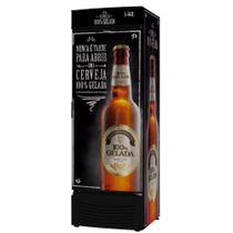 Conservador Vertical de Cervejas Porta de Chapa 431 Litros Fricon VCFC431-2C000 Preto 220V -