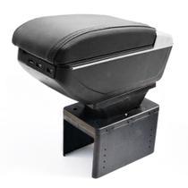 Console Apoio Braço Central Carro Universal 7 USB Preto - Magma