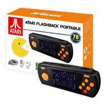 "Console Atari Flashback Portable tela de 2.8"" com 70 Jogos -"