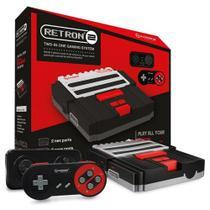 Console Hyperkin Retron 2 Preto Nes E Snes 5932 - Atari