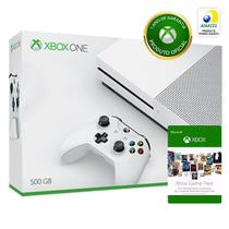 Console Microsoft Xbox One S 500gb - Game Pass