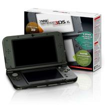 Console new nintendo 3ds xl preto original americano 3ds xl nintendo -