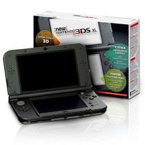 Console New Nintendo 3ds Xl Preto Original Americano 3ds Xl -