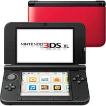 Console Nintendo 3DS XL Vermelho / Preto -