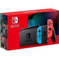 Console Nintendo Switch 32gb Neon Azul e Vermelho - Nintendo -
