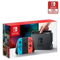 Console Nintendo Switch Azul/Vermelho - Nintendo -