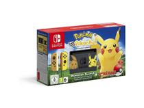 Console Nintendo Switch Pokemon Lets Go Pikachu Bundle -