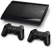 Console Playstation 3 Ps3 Super Slim 250GB com 2 controles - Sony