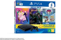 Console PlayStation 4 1TB Bundle V11 Just Dance 2020, Medievil, Knowledge is Power+Frantics+That's You! CUH-2214B - Sony -