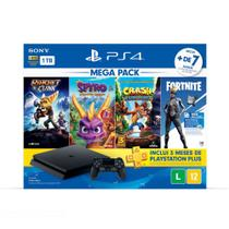 Console Playstation 4 1TB Slim Mega Pack Family Bundle v8 - PS4 - Sony