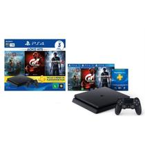 Console Playstation 4 Bundle Hits 3 1TB (God Of War, Sport e Uncharted 4) - Sony