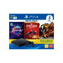 Console PlayStation 4 Hits Bundle 17 + Dreams + Marvels Spider Man + Infamous Second Son - PS4 -