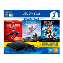 Console Playstation 4 Mega Pack 15 1TB com Jogos - Sony