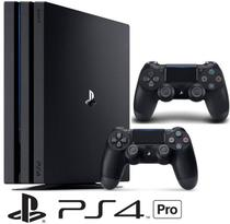 Console Playstation 4 Pro 1 TB + 2  Controle Wireless DualShock 4 - Sony ps4 -