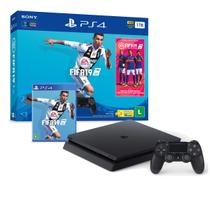 Console Playstation 4 Slim 1TB Bundle FIFA 19 CUH-2214B - Sony