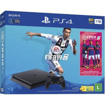 Console Playstation 4 Slim 1TB Bundle - FIFA 19 - Sony