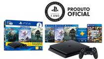 Console Playstation 4 Slim 1TB Hits Bundle + 4 jogos - Sony