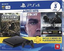 Console Playstation 4 Slim 1TB Hits Bundle 5 + Controle Dualchock 4 - Sony