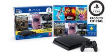 Console Playstation 4 Slim 1TB Hits Bundle  C/ 6 Jogos - Sony playstation 4