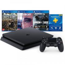 Console PS4 Playstation 4 Hits Bundle 5 Com 03 Jogos + PSN 03 meses - Sony