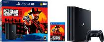 console ps4 pro 1tb + red dead redemption 2 - Sony