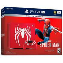 console ps4 pro 1tb spider man edition - Sony