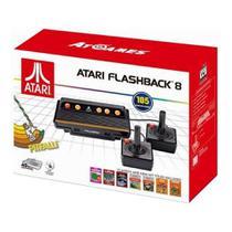 Console Retro Atari Flashback 8 Classic Game com 105 Jogos -