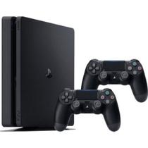 Console / Sony / Playstation 4 Slim / 500GB / 2 Controles - Preto