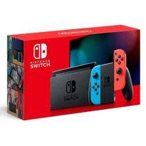 Console Video Game Nintendo Switch de 32 Gb Neon Red e Blue -