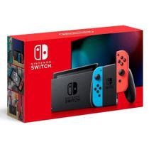 Console Video Game Nintendo Switch de 32 Gb Neon Red e Blue -