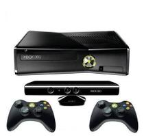 Console Xbox 360 4GB Kinect  2 Controles Wireless - Microsoft
